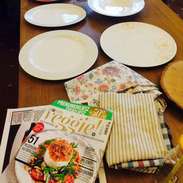 Jakie talerze są dobre do sesji kulinarnej