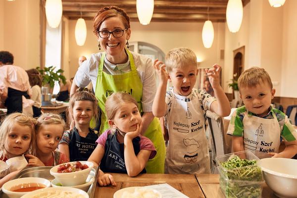 Warsztaty kulinarne we Wrocławiu dla dzieci