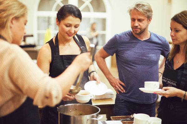 Na warsztatach z kuchni roślinnej we Wrocławiu uraczyliśmy wszystkich gości prostymi wege przepisami