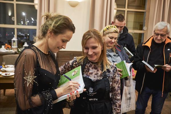 Na warsztatach pojawiła się też aktorka i propagatorka zdrowego żywienia Monika Mrozowska