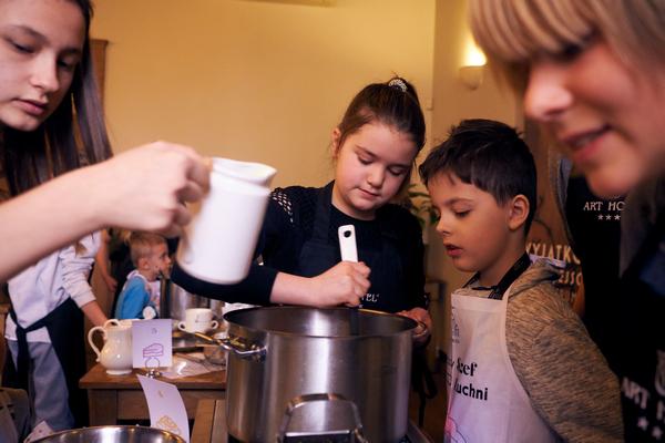 Gotowanie z dziećmi we Wrocławiu