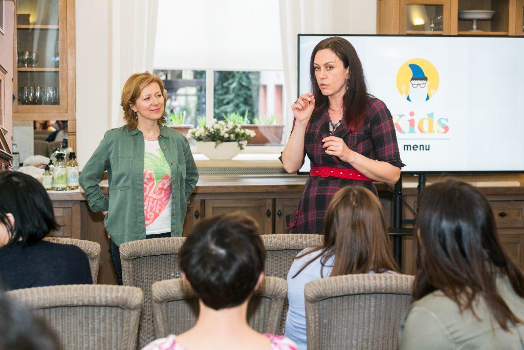 Bianka Heyman w imieniu firmy Klar opowiadała o ekologicznych środkach czystości dla domu