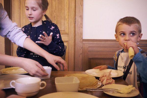 Idealne dziecięce menu w restauracji