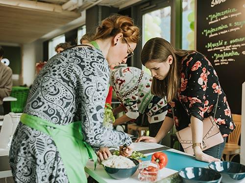 Warsztaty zdrowego gotowania - Katarzyna Gubała