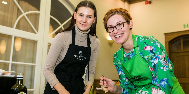 Warsztaty integracyjne z kuchni włoskiej w art hotelu Wrocław