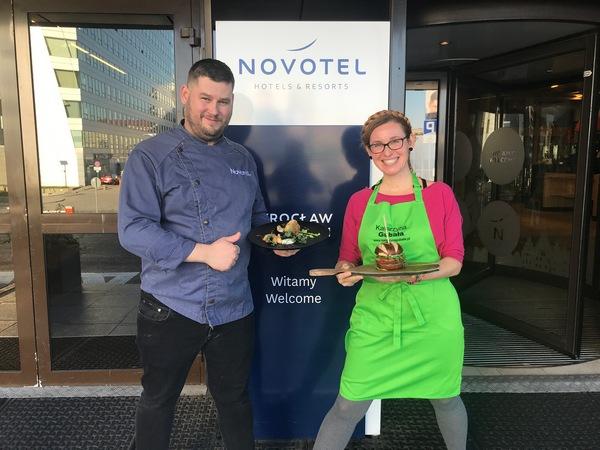 Kuchnia wege w hotelu Novotel to nowość, ale też szansa na konkurencyjność