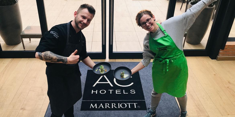 Szkolenie z kuchni wege w AC Marriott