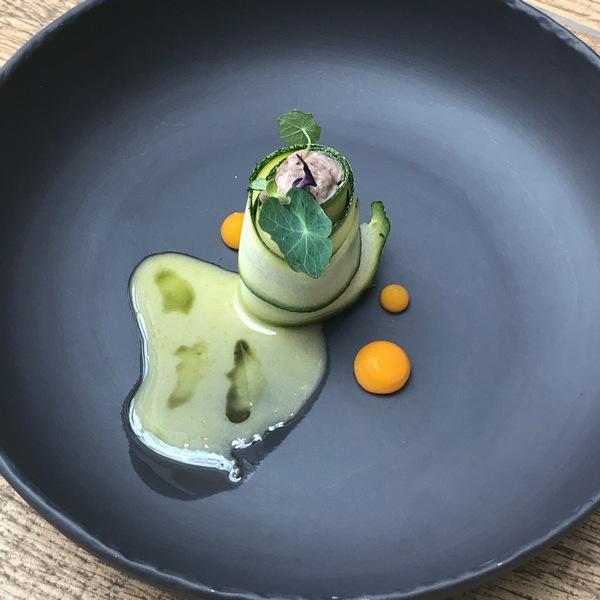 Wegańskie dania do wege menu w restauracji