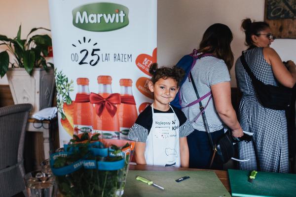 W warsztatach kulinarnych pomagała fundacja Marwit