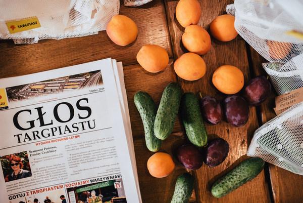 Świeże warzywa i owoce na warsztaty kulinarne od Targ Piast