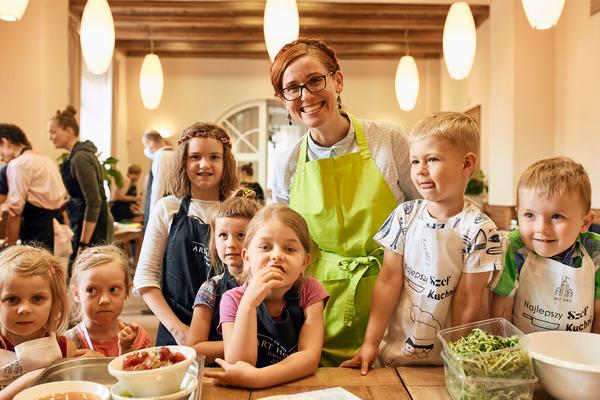 Organizowane przeze mnie w Art Hotelu we Wrocławiu warsztaty kulinarne dla dzieci cieszą się od lat wielką popularnością