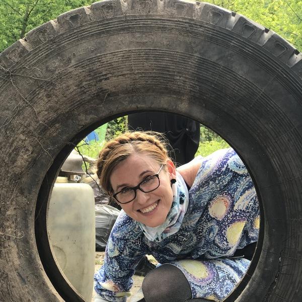 Ambasadorka akcji Sprzątanie świata - Polska Katarzyna Gubała
