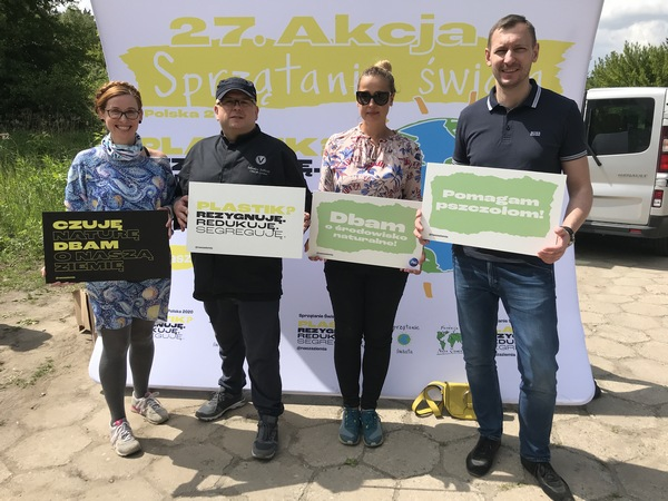 W akcji Sprzatanie świata 2020 pomagała nam ekipa z sieci hoteli Vienna House Andel's