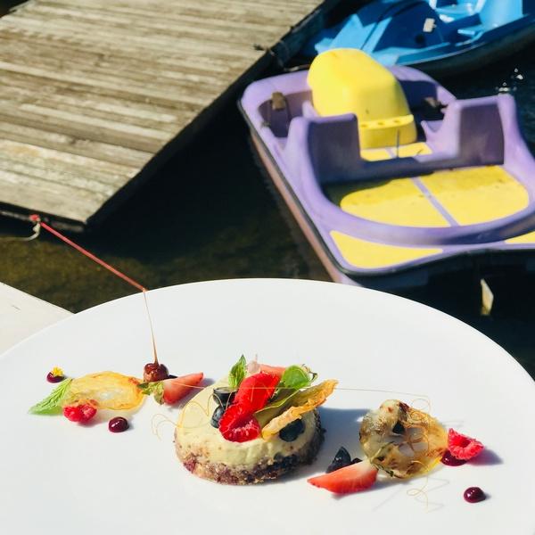 W sezonie Fregata Lake Club oferuje wegańskie menu po wcześniejszej rezerwacji