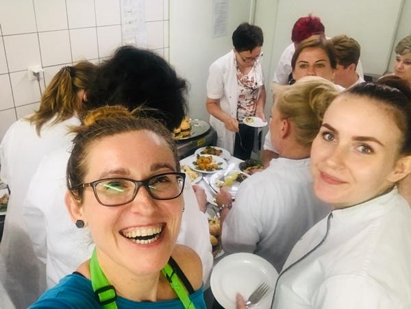 szkolenia z kuchni wege i diet wykluczeniowych w PSS Społem w Białymstoku