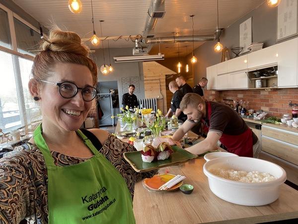 Szkolenie z kuchni wegansiej sieci restauracji sushi