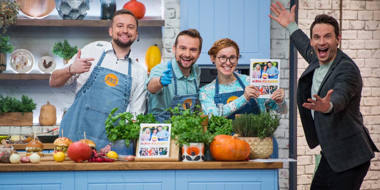 Pytanie na śniadanie Album kulinarny autor Katarzyna Gubała