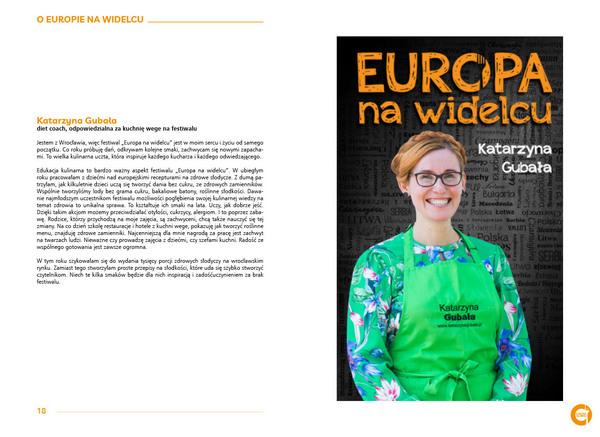 Festiwal Europa na widelcu - książka Katarzyna Gubała