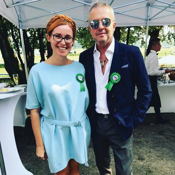 Katarzyna Gubała i Bogusław Linda