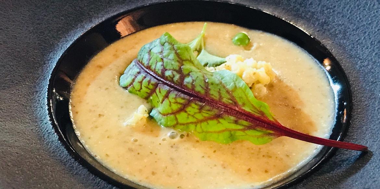 Szybka wegańska zupa z siemienia lnianego